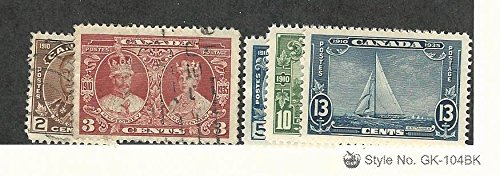 Canada, Postage Stamp, 212-213 Used, 214-216 Mint Hinged, 1935