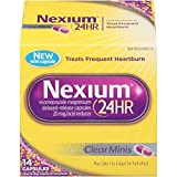 Nexium 24HR ClearMinis Delayed Release Heartburn Relief Capsules, Esomeprazole Magnesium Acid Reducer (20mg, 14 Count)