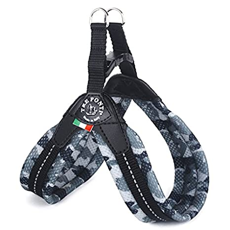 Tre Ponti Fibbia Small Dog Mesh Harness