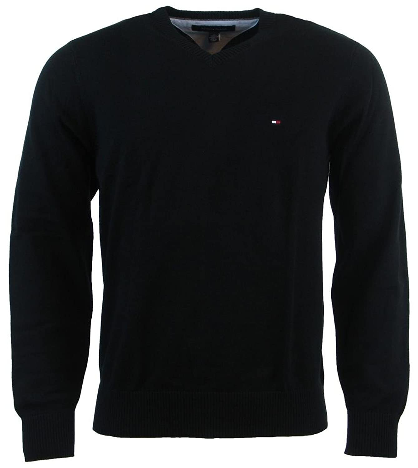 Tommy Hilfiger Men's V Neck Long Sleeve Pacific Pullover Sweater by Tommy+Hilfiger