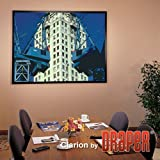 DRAPER 253016 ShadowBox Clarion Fixed Projection Screen