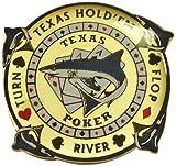 Trademark Double-Sided Texas Hold'em Shark Card Keeper (Multi)