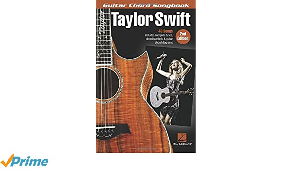 Amazon.com: Taylor Swift - Guitar Chord Songbook (0888680729615 ...