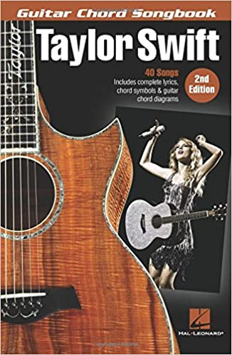 Taylor Swift: Guitar Chord Songbook 2nd Edition: Amazon.co.uk ...