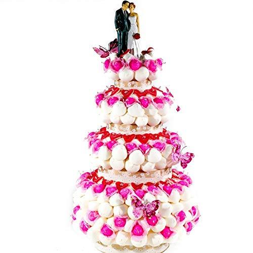 Tarta de boda originales de chuches golosinas: Amazon.es ...