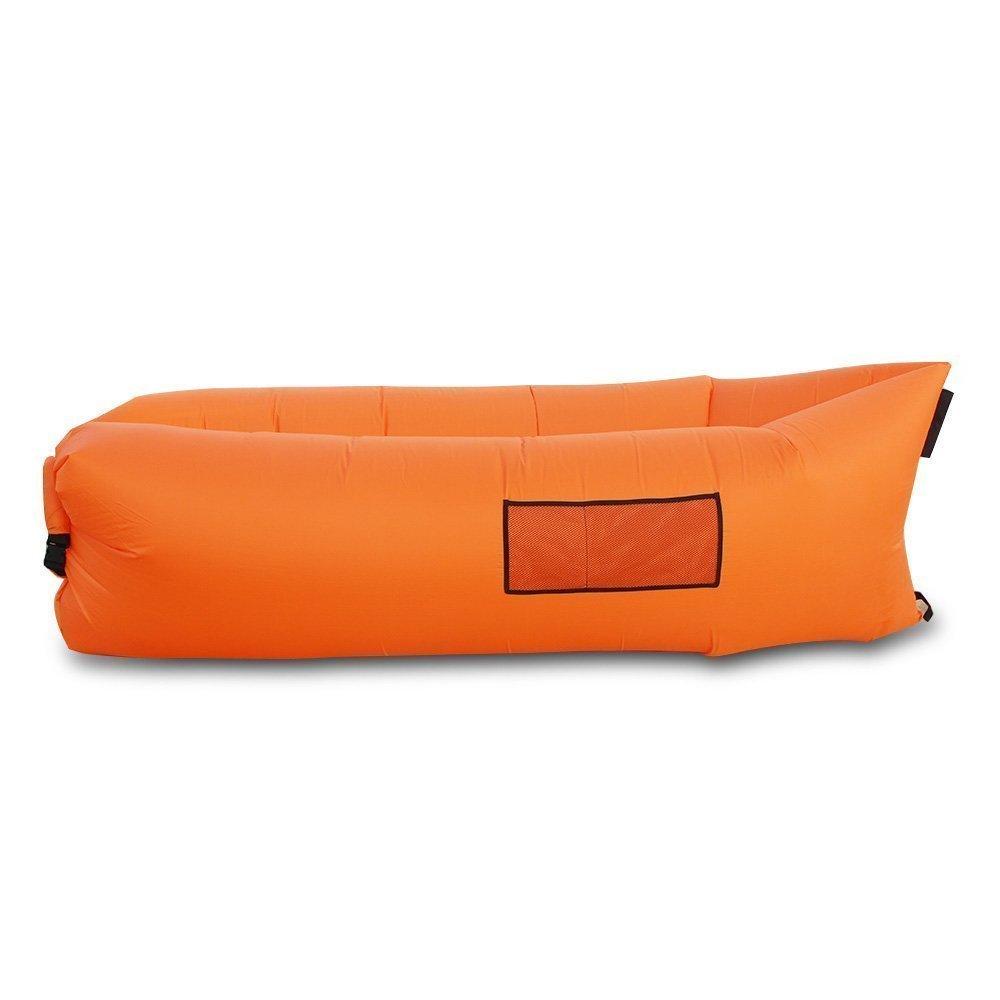 Outdoor lazy lounger wopow schnell aufblasbar air tasche for Sofa aufblasbar