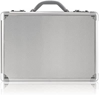 Solo Fifth Avenue 17.3 Inch Laptop Attaché, Hard-sided with Combination Locks