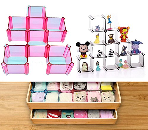 Honeycomb Organizer Household Partition Transparent