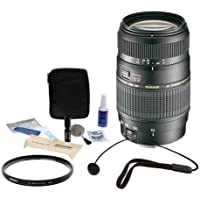Tamron 70-300mm f/4-5.6 Di LD Macro Autofocus Lens (International Version)(No Warranty) for Nikon Pro Accessory Kit