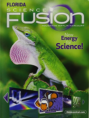 Houghton Mifflin Harcourt Science Florida: Student Edition Interactive Worktext Grade 3 2012