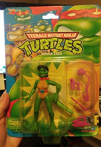 Amazon.com: Teenage Mutant Ninja Turtles Mona Lisa 1992 ...