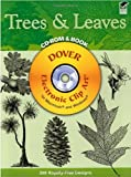 Trees and Leaves CD-ROM and Book (Dover Electronic Clip Art)