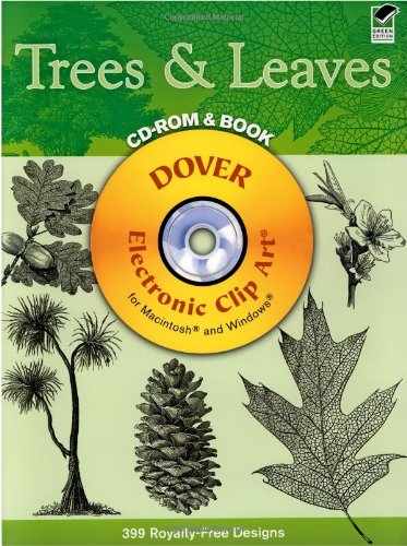 Tree Clipart - Trees & Leaves (Dover Electronic Clip Art)