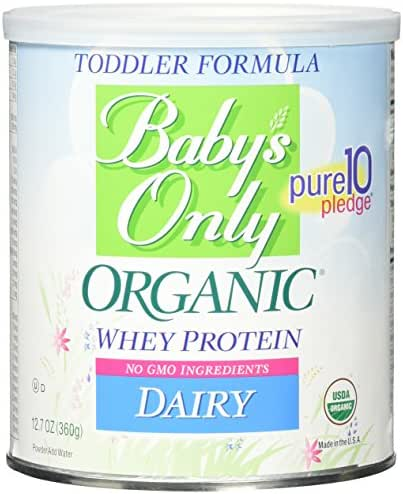Baby Formula: Baby's Only Dairy Whey Formula