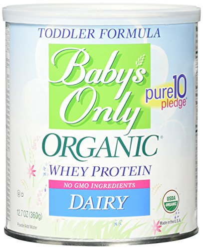 Baby's Only Toddler Formula - Dairy with Whey Protein - Powder - 12.7 oz