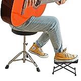 EastRock Guitar Footstools Adjustable Height Guitar