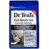 Dr Teal's Activated Charcoal & Lava Salt Soaking Solution, 3 lbs