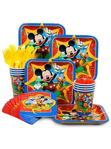 Mickey Party Standard Kit Serves 8 Guests