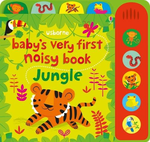 First Babys Jungle (Baby's Very First Noisy Book Jungle)