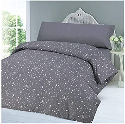 COTTON ART Funda Nordica Stars Reversible Cama de 135-50% ALGODÓN - 50% POLIÉSTER.: Amazon.es: Hogar