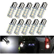 XT AUTO 10x 1156 7506 1003 1141 LED SMD 18 LED Bulbs Interior RV Camper White