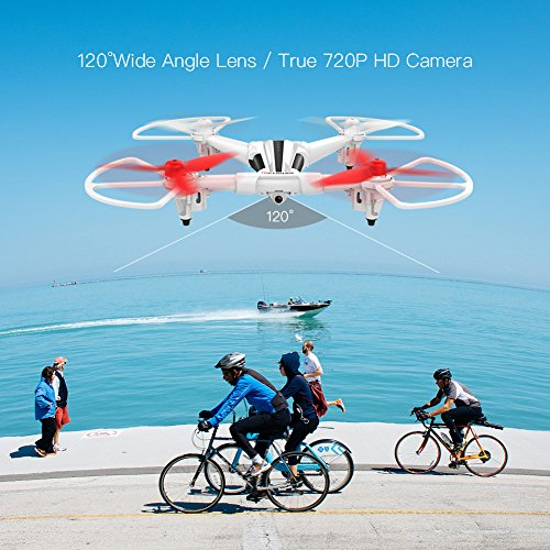METAKOO Quadcopter Drone, X300 RC Drone with 2.0MP HD Camera 2.4G 6 Axis Remote Control Quadcopter with Altitude Hold, Headless Mode, 3D Flips and One-Key Landing/Taking Off