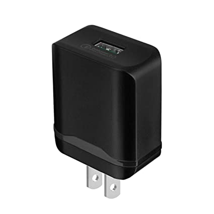 Quick Charge 3.0: Lrker 18W 1-Port Fast Falsh Portable USB Wall Charger Power Adapter with Qualcomm Certified QC 3.0 for Samsung Galaxy S8 Plus S7 ...