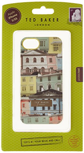 46097fd2ed982 Ted Baker Hard Shell SILKE Houses Print with Plates for Apple iPhone 5 5S -
