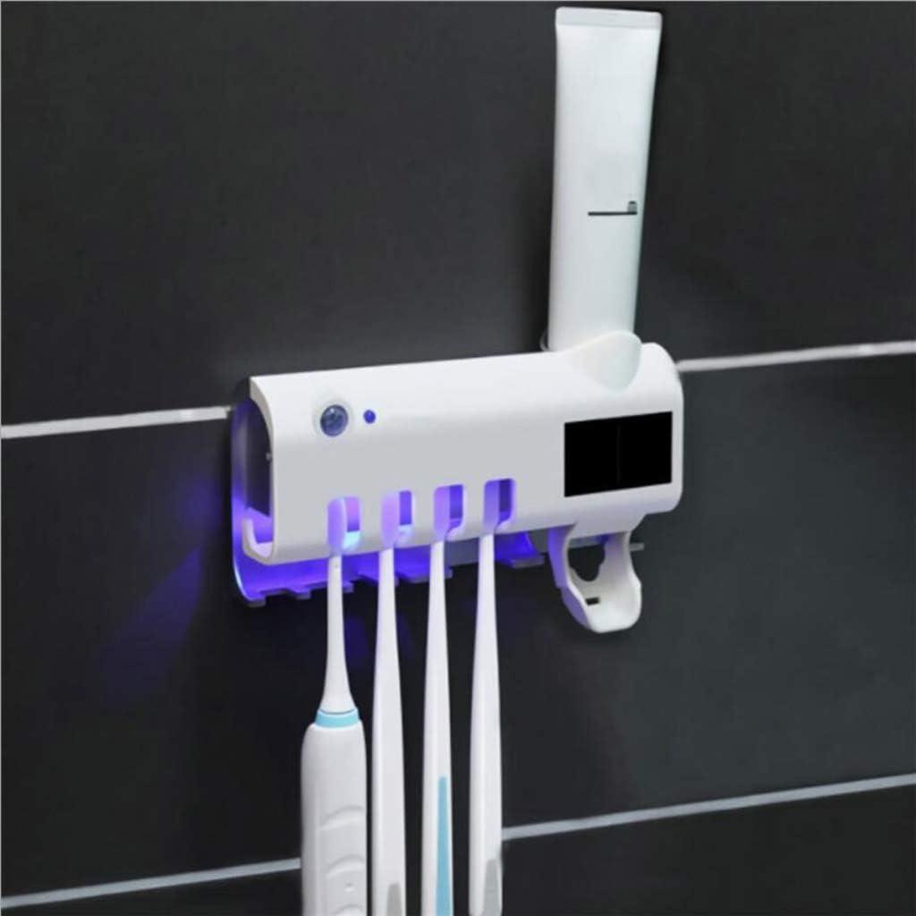 Amuzocity Sterilizzatore Porta Spazzolino USB Porta-spazzolino Da Bagno UV Per Famiglie