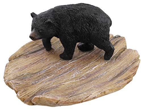 Bear Black Dishes - Little Black Bear Dish/Plate / Tray/Soap Dish/Change Holder