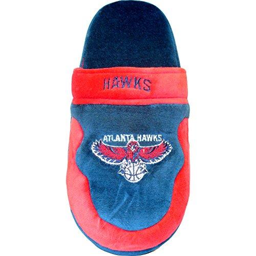 26a717547d85d3 high-quality Happy Feet Mens and Womens Atlanta Hawks NBA Scuff Slippers