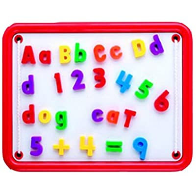 Educational Insights Magnetic Alphabet And Numbers by Educational Insights