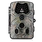 Trail Camera - FLOUREON Trail Camera 1080P HD 12MP Game and Wildlife Hunting Video Camera with Infrared Night Version,2.4 inch LCD Screen, PIR Sensors, IP54 Spray Water Protected design