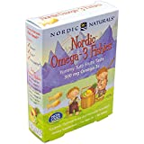 Nordic Naturals - Nordic Omega-3 Fishies, Supports Optimal Brain and Immune Function, 36 Count (FFP)