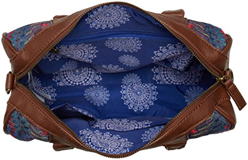 AFRICAN 5006 Blue Top handle Women's Jeans MALTA ART Bag Desigual awB5qB