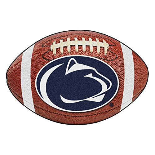 FANMATS NCAA Penn State Nittany Lions Nylon Face Football Rug