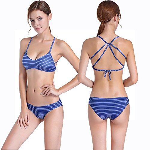 Pezzi JYMDH Triangolo Da Due A Bikini Bagno Bikini Costume Da XL Donna 8nxaqw8f1