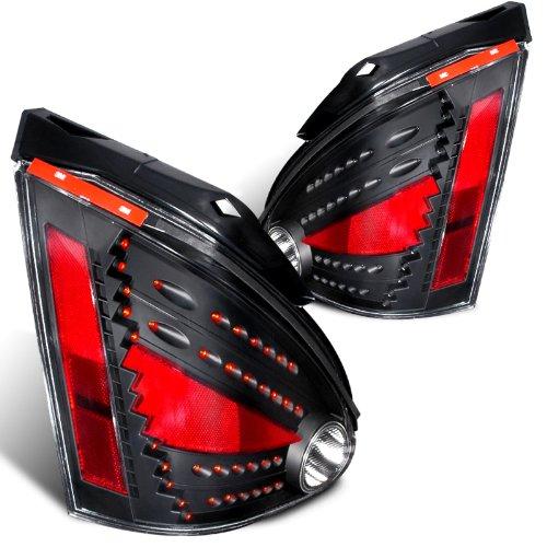 Spec-D Tuning LT-MAX04JMLED-DP Spec-D Led Tail Lights Black
