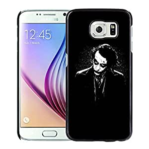 The Joker Batman Black White Black Samsung Galaxy S6 Screen Cellphone Case Personalized and Melting Design