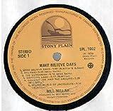 Will Millar: Make Believe Days LP VG+/NM Canada Stony Plain SPL 1002 Corner cut