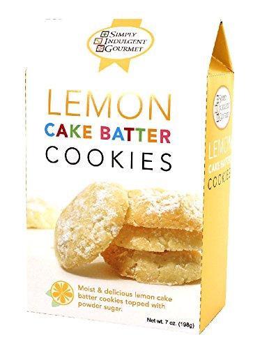 Lemon Cake Batter Cookies 6oz Each