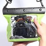 Enking 20M Underwater Waterproof Case DSLR SLR-green