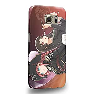 Case88 Premium Designs Miniskirt Space Pirates Marika Kato 2080 Protective Snap-on Hard Back Case Cover for Samsung Galaxy S6 (Not Edge Version !)
