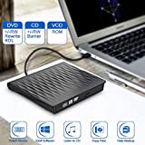 External CD DVD Drive, USB 3.0 Slim External CD/DVD