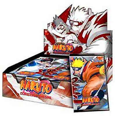 Naruto Card Game The Chosen 1st Edition Booster Box (24 ...