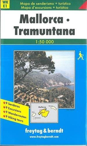 Freytag Berndt Wanderkarten, Mallorca Tramuntana: Walking Map (Walking Maps)
