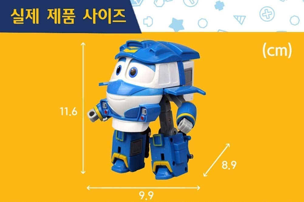 Robot Train Season 2 Korean Animation Transforming Robot 5 Kay