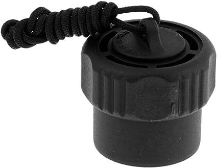 Scuba Diving Tank Dust Plug Cap Fits 200 bar or 300 bar DIN Valve Fittings
