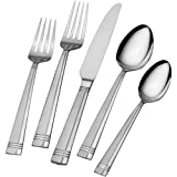 International Silver Dawson Frost Stainless Steel Flatware, 20-Piece Set, Service for 4 (Kitchen)