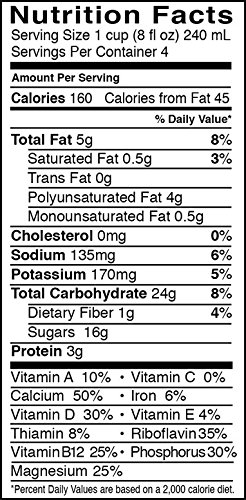 Pacific Foods, Hemp - Vanilla (Pack of 6)